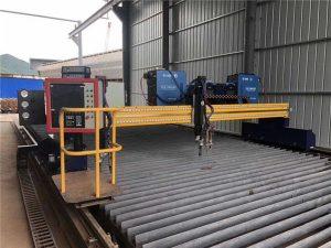 Zautomatyzowana maszyna do cięcia plazmowego CNC Podwójna jazda 4m Rozpiętość 15m Szyny