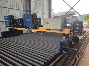 Suwnica bramowa z podwójnym napędem CNC do cięcia linii produkcyjnej z litej stali H