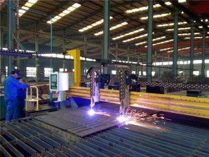 Gantry CNC plazmowa maszyna do cięcia i płomienna maszyna do cięcia blachy stalowej