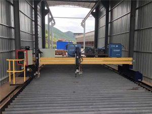 Precyzyjna maszyna do cięcia plazmowego CNC Dokładna 13000 mm z silnikiem servo