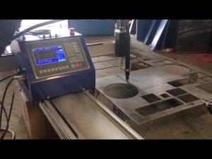 cnc przenośna maszyna do cięcia plazmą powietrzną, przenośna przecinarka plazmowa powietrza