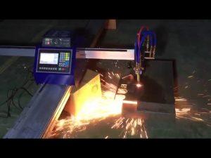 niska cena mini przenośna maszyna do cięcia plazmowego płomienia rur cnc do cięcia metalu ze stali nierdzewnej